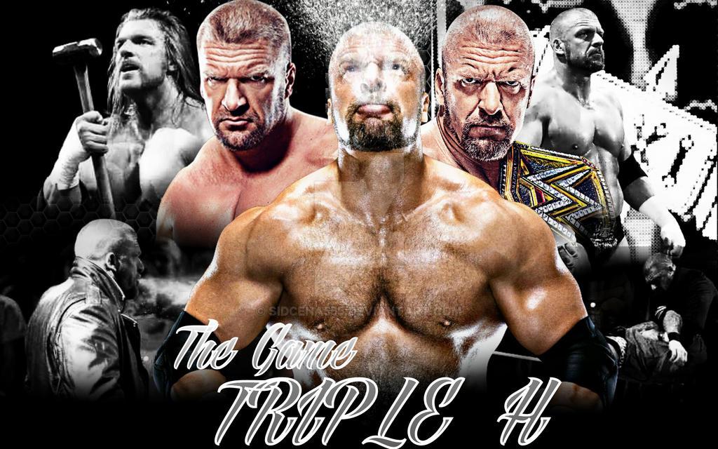 Triple H Desktop Wallpaper By SidCena555