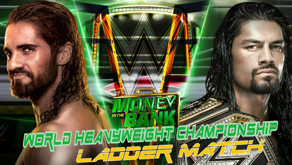 Roman Reigns Vs Seth Rollins Money In The Bank By – Desenhos Para