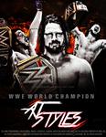 AJ Styles WWE Champion Poster 2016