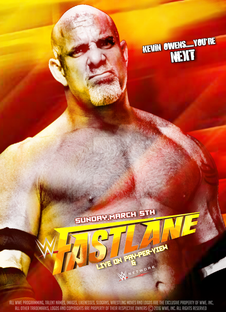 WWE Fastlane 2017 Poster by SidCena555