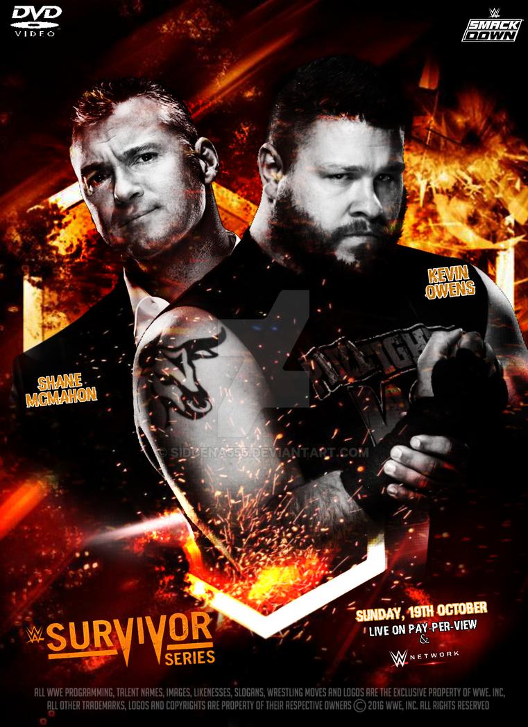 Survivor Series 2017 Poster Official >> Wwe Survivor Series 2017 Poster By Sidcena555 On Deviantart