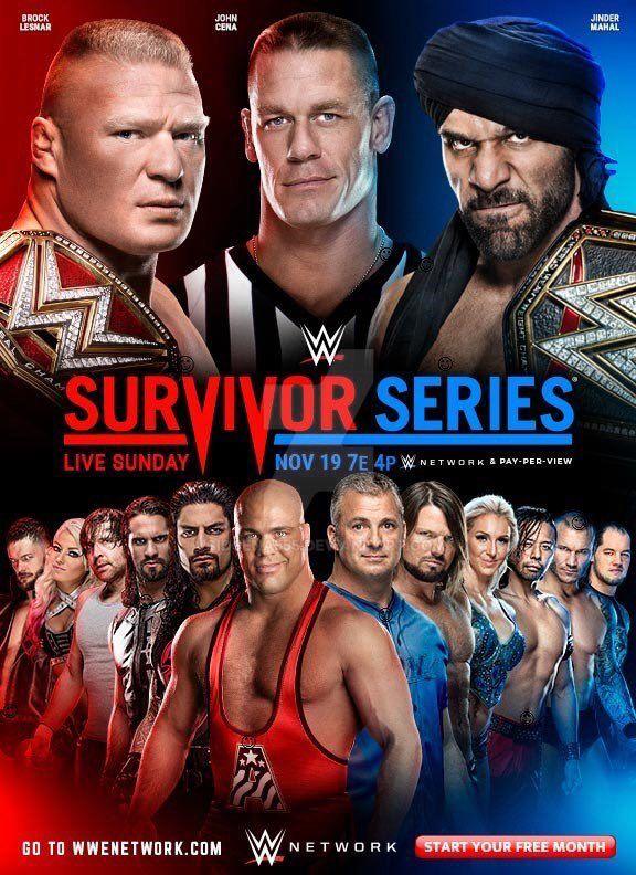 Survivor Series 2017 Poster Official >> Wwe Survivor Series 2017 Official Poster By Sidcena555 On Deviantart