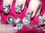 Nail Art: Leopard and Zebra Print :3