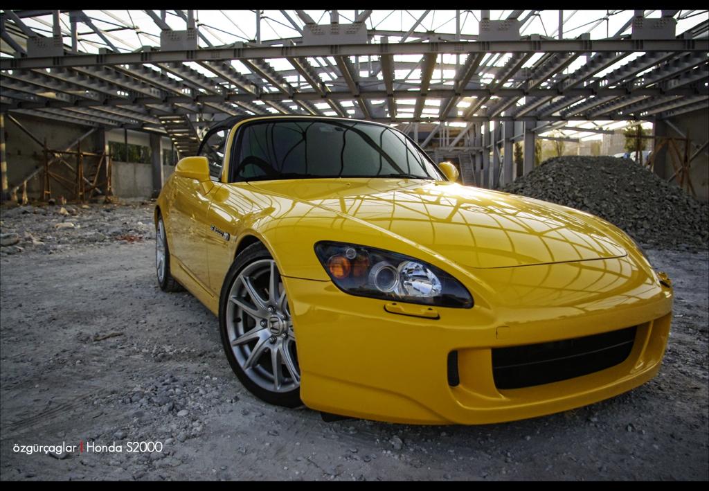 Honda S2000 Yellow 4 By Rugzoo On Deviantart