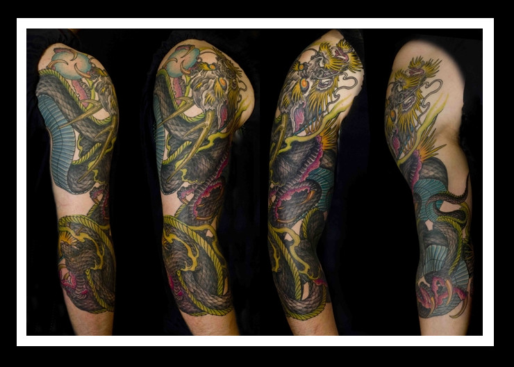 Dragon Sleeve - sleeve tattoo