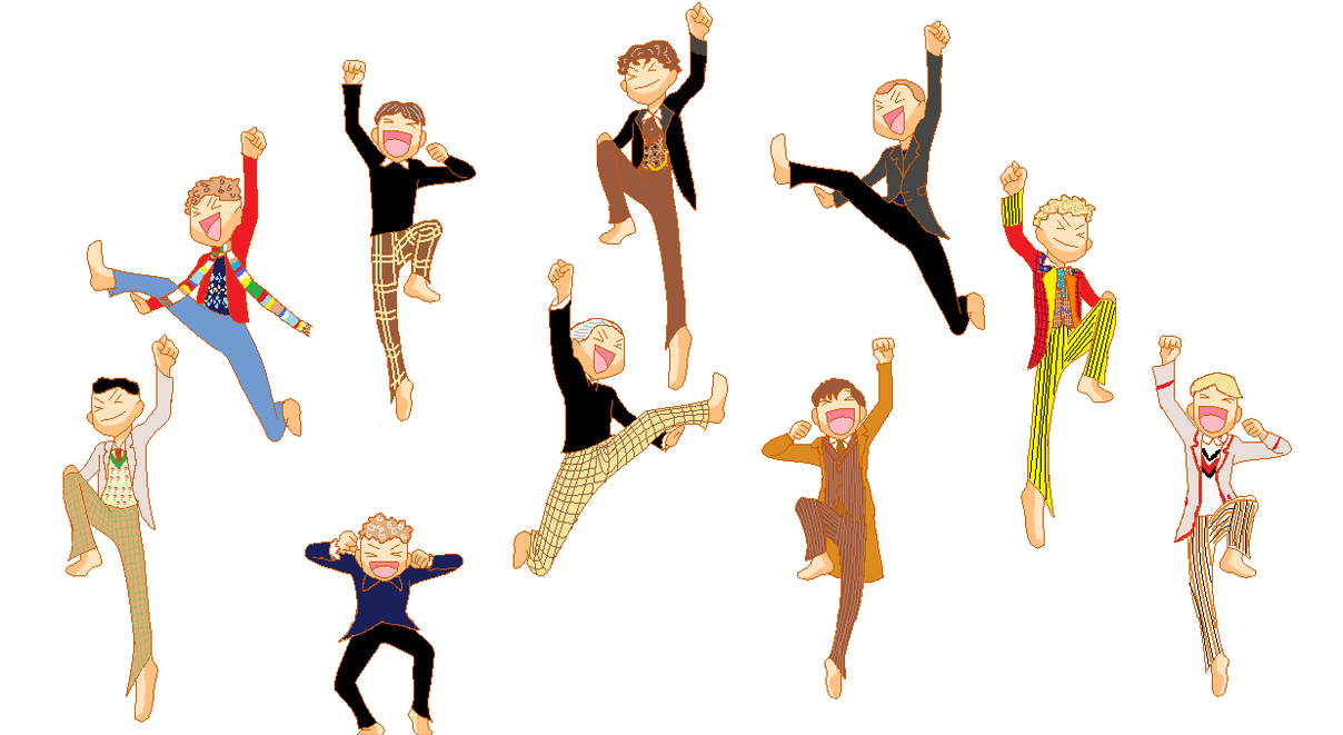 10 Time Lords are Leaping by cornishmouse