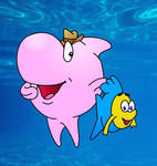 Sharky and george (redrawn)