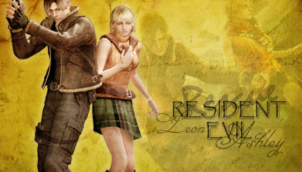 Resident Evil, Leon and Ashley