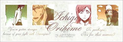 Ichigo and Inoue by WhiteMoon06