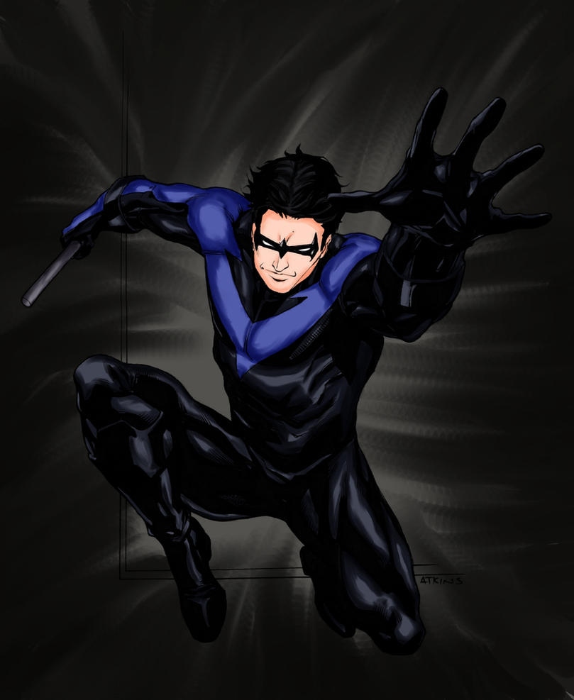 Nightwing by lucybianchi