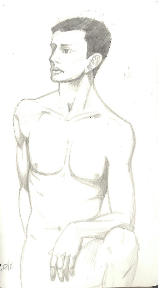 Figure Drawing 3 by RinaShadowPrincess