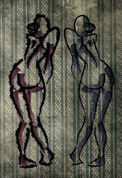 Woman figure sketch