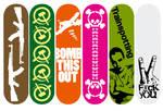 Skateboards design
