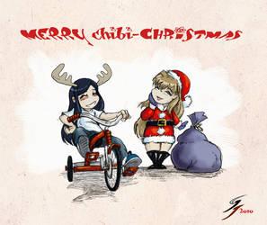 Chibi Christmas by Fade9wayz