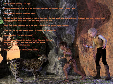 Shaniquah and Dunamaka: Chapter 1, Part 9
