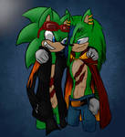 I know my ancestor | Sonic FC\OC by Scourge157