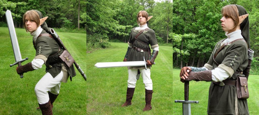Link: Master Swordsman by Zeldaness