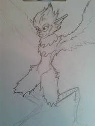 Harpy [WIP] by DrPilly