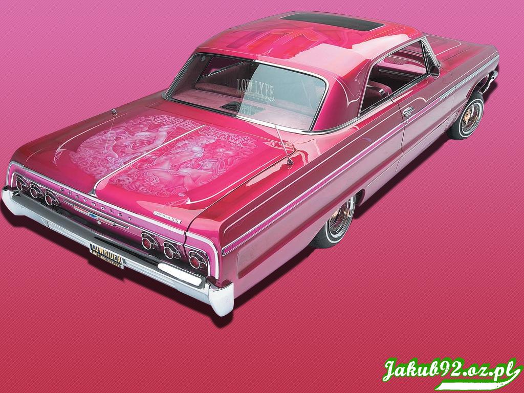 Pink lowrider by Jakub92