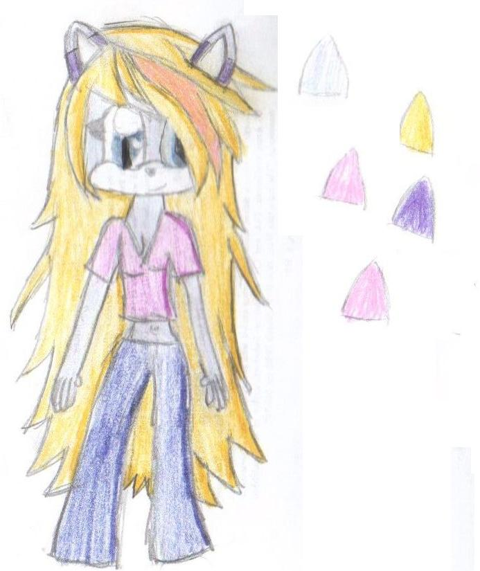 Lausa's New design by Silver-Moonshine01