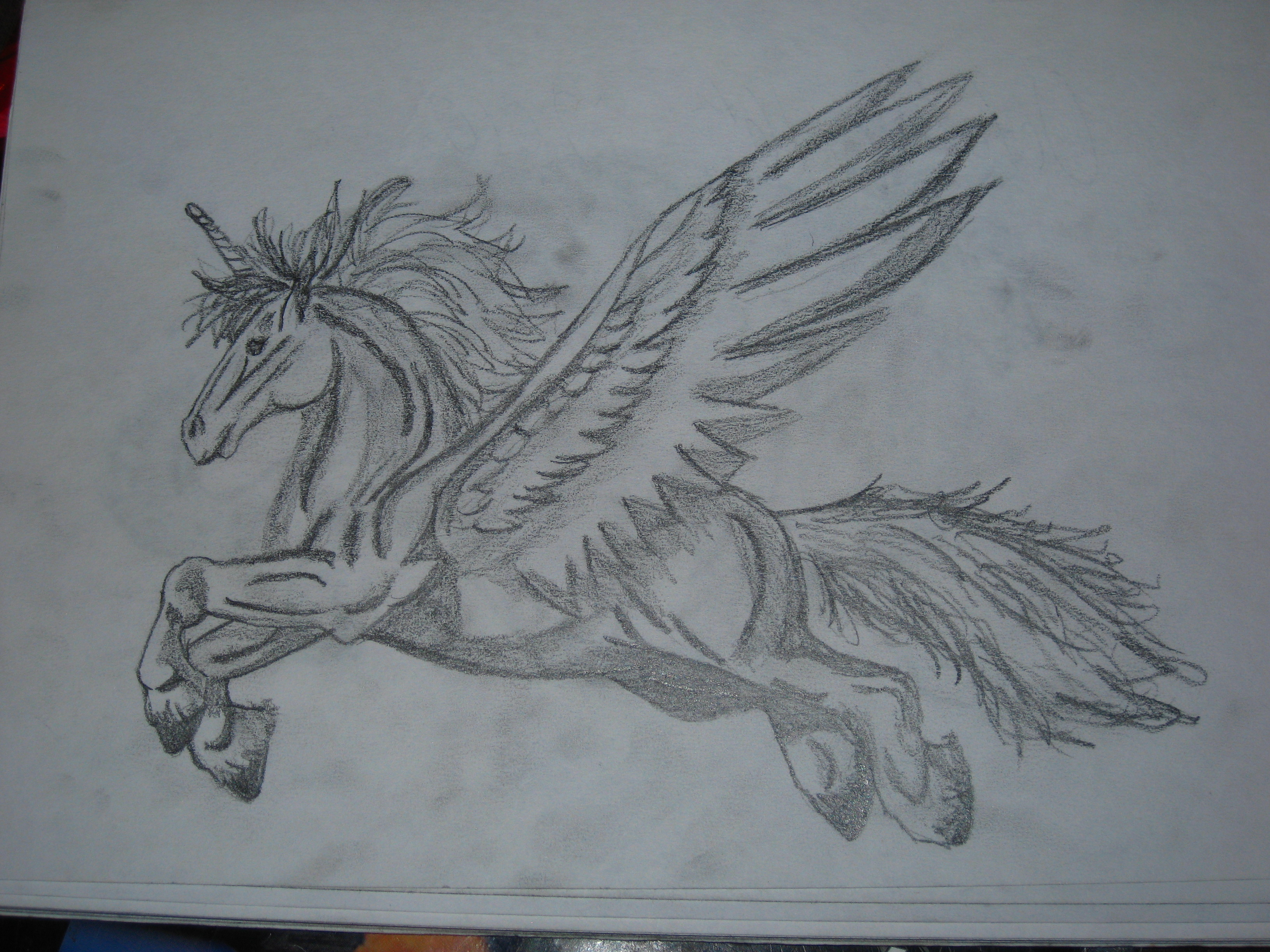 a very buff flying horse by rachel5335 on deviantart