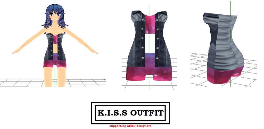 Kiss Outfit 2 by ela-stellar on DeviantArt