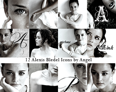 12 Alexis Bledel Icon by sunshineangel