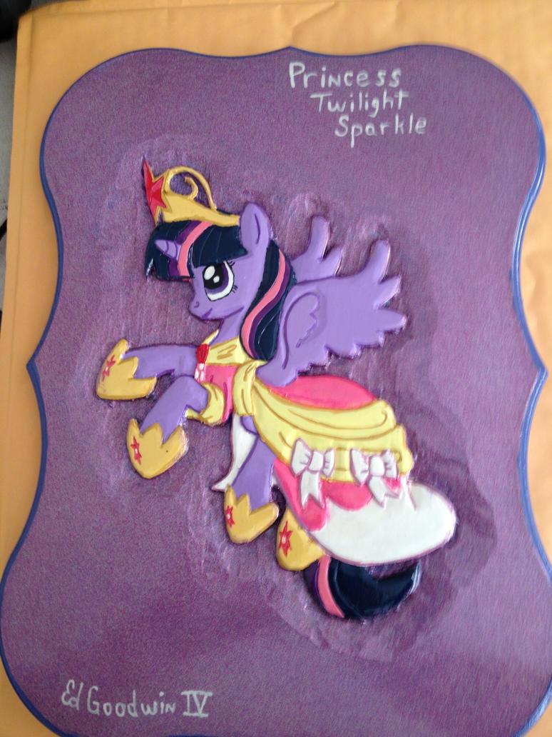 Princess Twilight Sparkle by SpikeFiremane