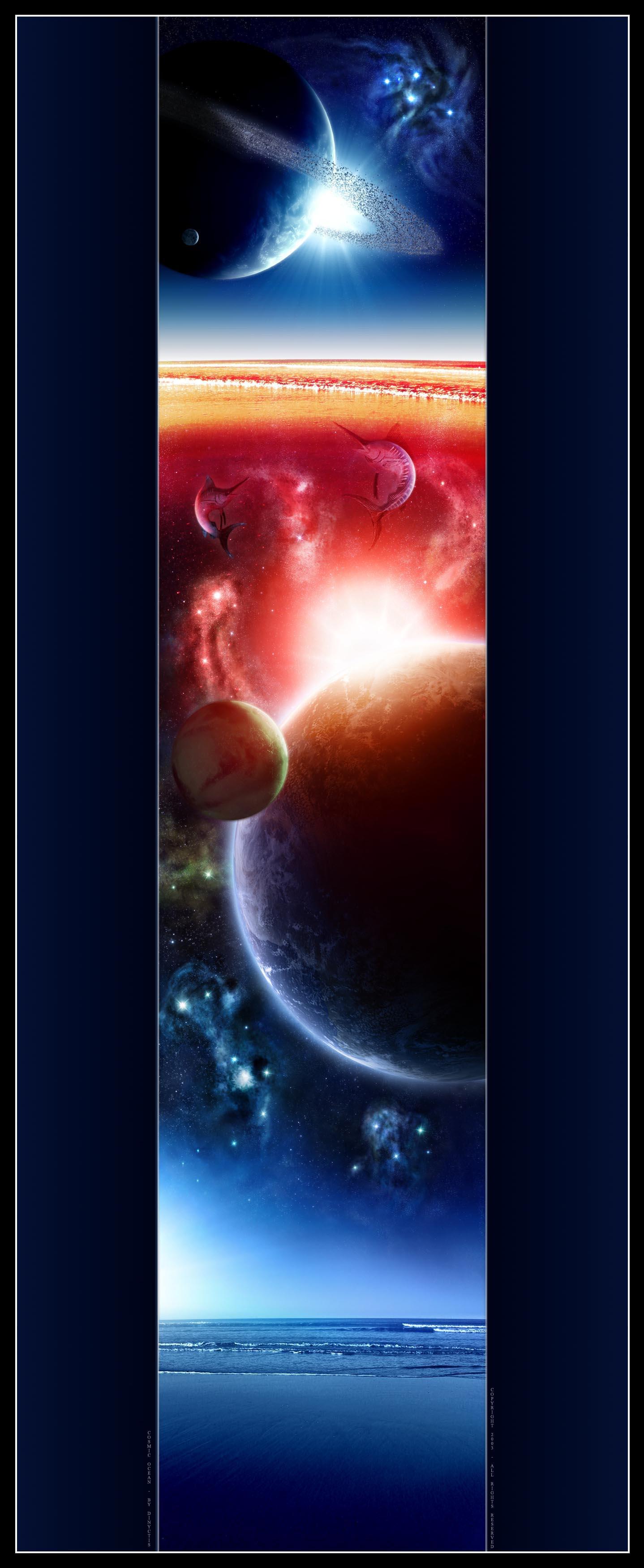 Cosmic Ocean by dinyctis