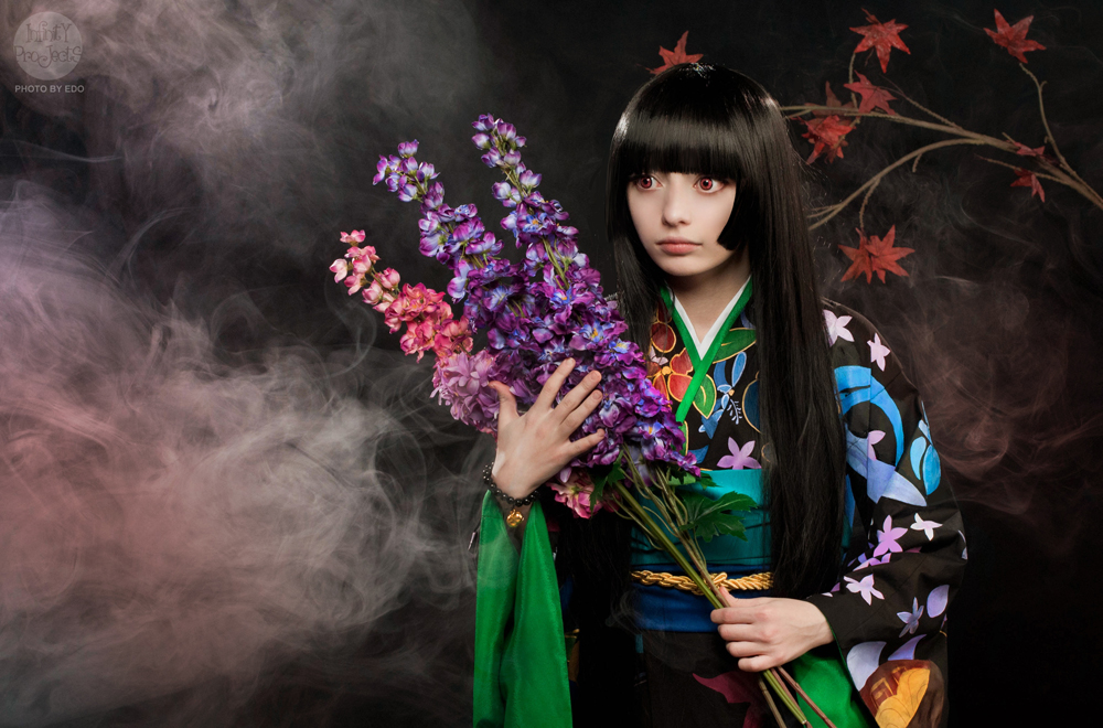 ~Jigoku Shoujo Futakomori~ by gnitae