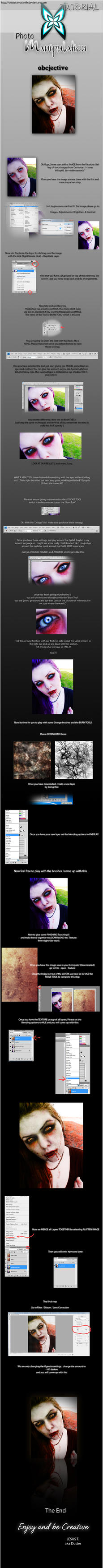 Photomanipulation Tutorial by DusterAmaranth