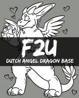F2U Dutch Angel Dragon Base by ThatSpiderCat