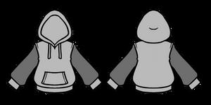 F2U Hoodie Line Art (PSD File)