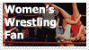 Women's Wrestling Stamp by JINZOKI