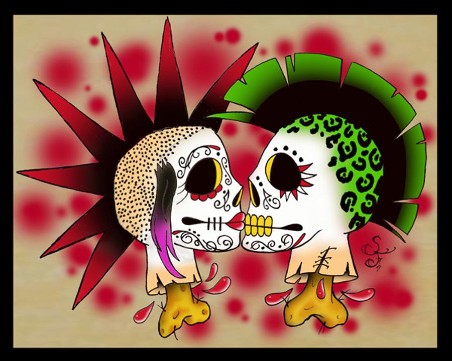 Punk love art