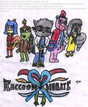 Sly parody pic- Raccoon Hearts