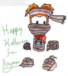 Halloween piccy 4 - Rayman by freqrexy