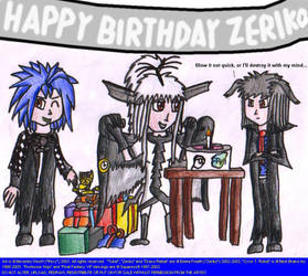 Birthday piccie for Zeriko by freqrexy