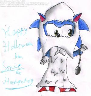 Halloween piccy 7 - Sonic