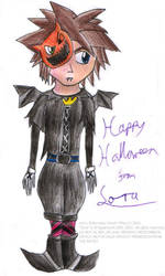 Halloween piccy 8 - Sora by freqrexy