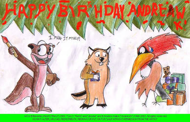 Bday pic for Andrew K by freqrexy