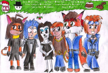 XmasGroupPic2 - CC Tribe by freqrexy