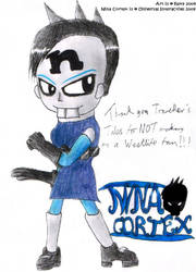 Nina Cortex- Are Girls Gothic? by freqrexy