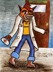 :CRASH: Help me, Dr Bandicoot by freqrexy