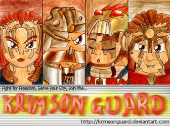 :CONTEST: KrimsonGuard ID No2? by freqrexy