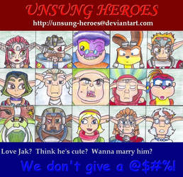 +CONTEST+ The Unsung Heroes by freqrexy
