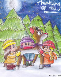 $XMAS$ Reindeer's Reflection by freqrexy