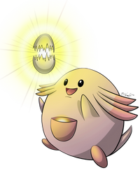 Chansey used Soft-Boiled! by freqrexy