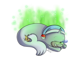 Seel used Rest! by freqrexy