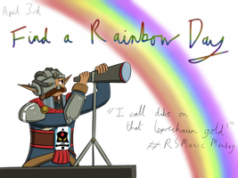Manic Baron Doodle: Find a Rainbow Day by freqrexy
